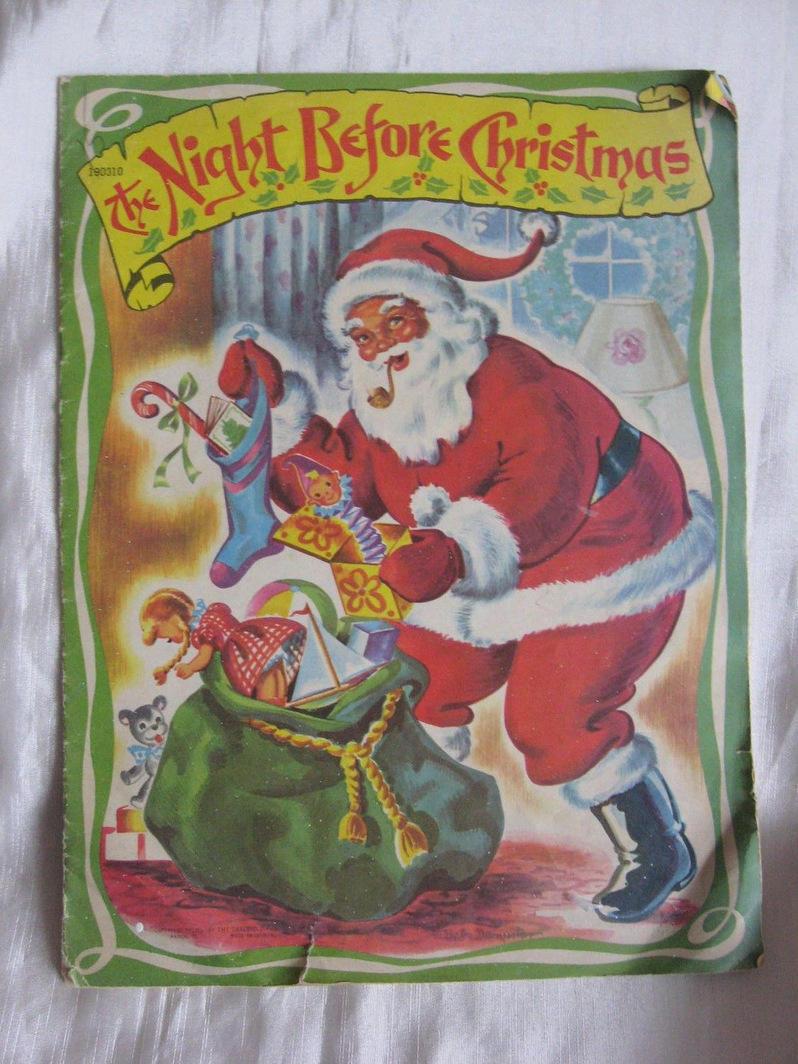 1950 the night before christmas by saalfield etsy