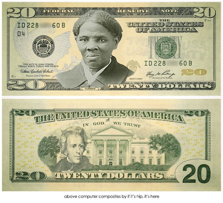 The Story Behind The Harriet Tubman 20 Dollar Bill Harriet Tubman Dollar Bill In God We Trust