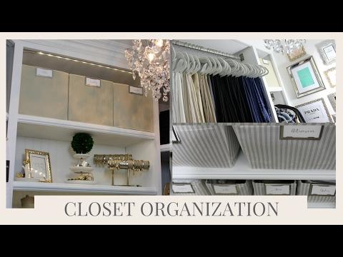 (107) HOME ORGANIZATION MASTER CLOSET ORGANIZATION TIPS