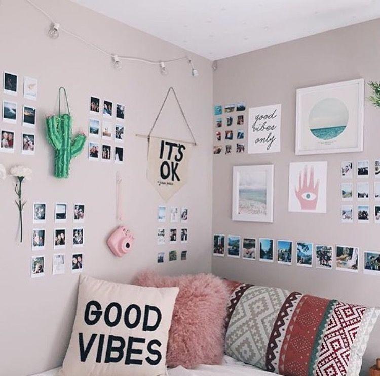 Dorm Rooms Wall Ideas Interior Decorating Photography Ideas Bedroom Ideas Prints Decorar Quarto Com Fotos Decoração De Quarto Tumblr Decoração De Quarto