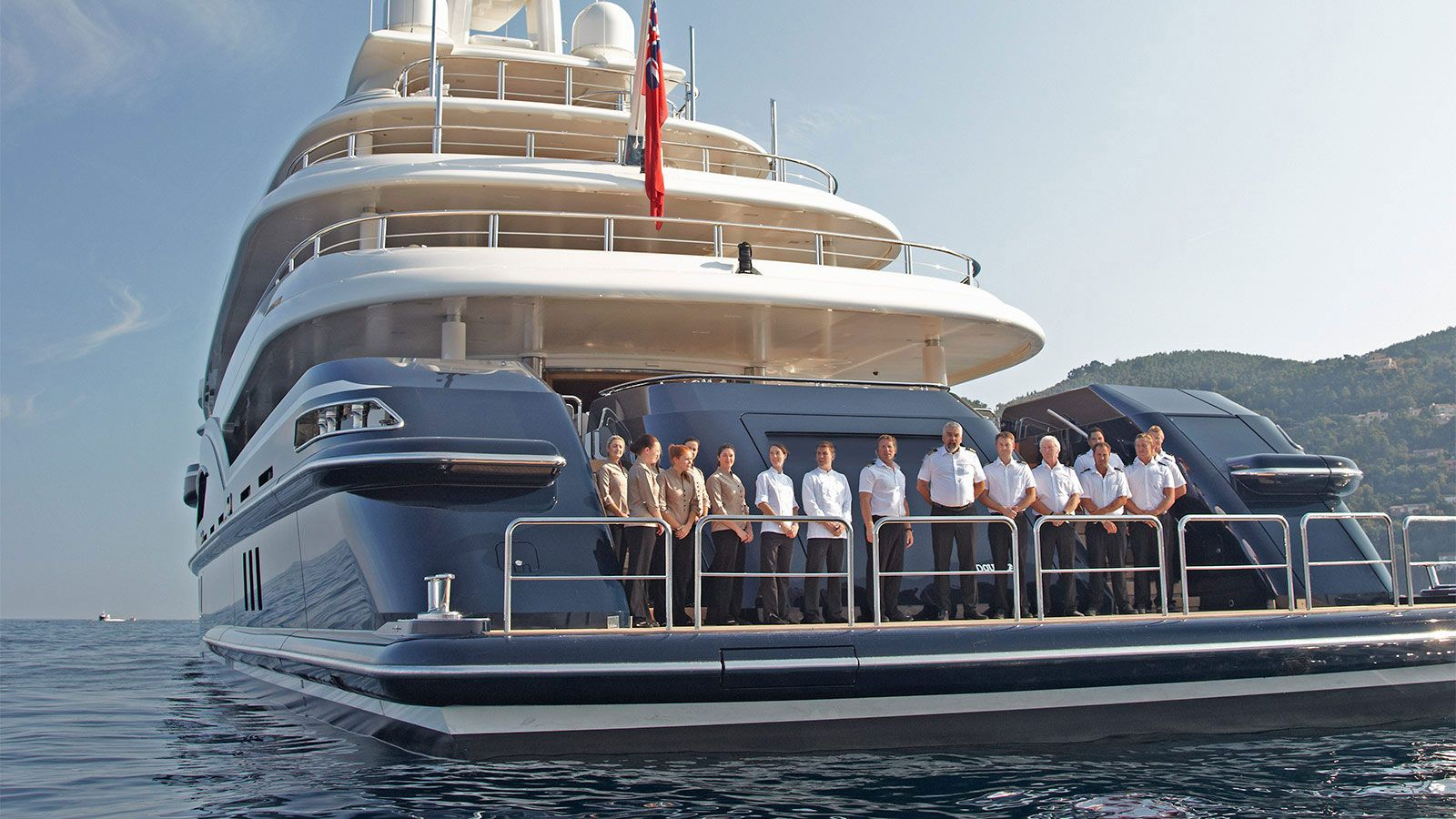SHERAKHAN Superyacht Luxury Motor Yacht for Charter with