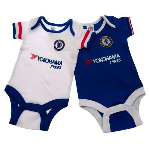 Chelsea F.C. 2 Pack Bodysuit 12 18 mths RW  818ab3b54