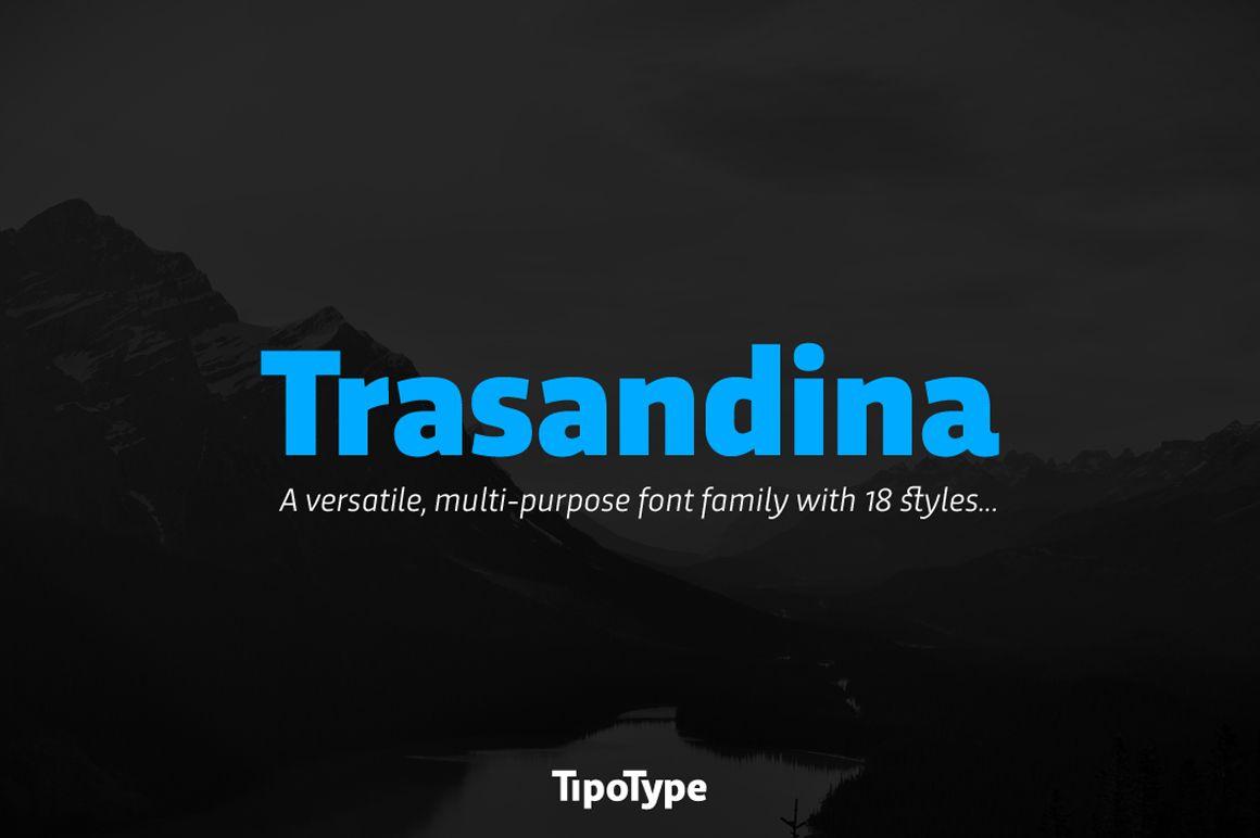Trasandina by TipoType on @creativemarket