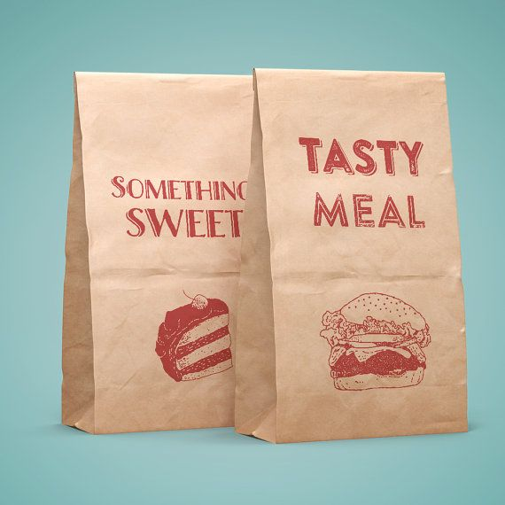 6 #printables for #lunchbags   #lunch #paper #bags
