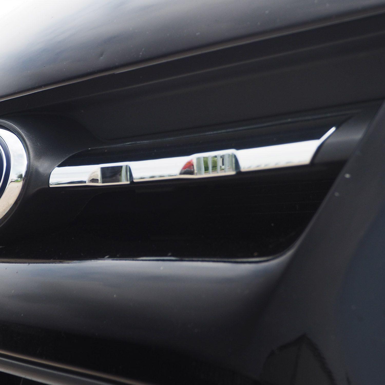 Ford Transit Custom Front Grille Trims Shiny Chrome 7pcs 2012