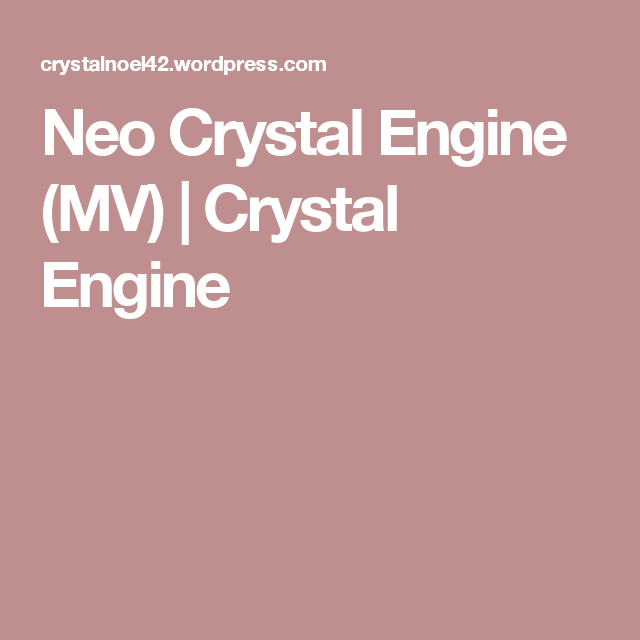 Neo Crystal Engine (MV) | RPG Maker | Rpg maker, Engineering