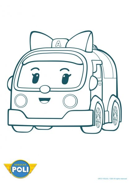 coloriage robocar poli ambre 1 robocar poli pinterest coloriage coloriage pour. Black Bedroom Furniture Sets. Home Design Ideas