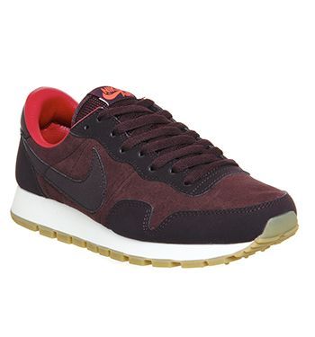 Nike Air Pegasus 83 Deep Burgundy Bright Crimson Gum His Trainers