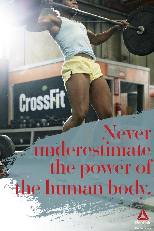 The human body has more power than we might think. Our ...