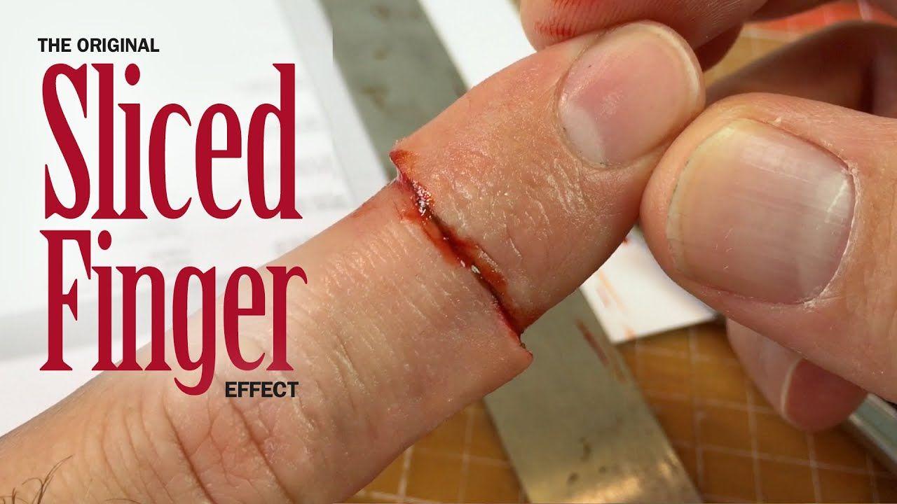 Original Sliced Finger SFX makeup tutorial in 2020 Sfx
