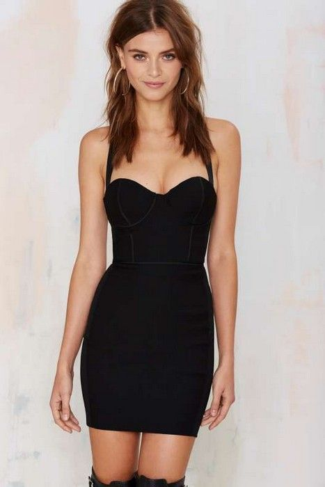 067301f65ee 20 Looks with Bustier Dresses Glamsugar.com Bustier Dress ...