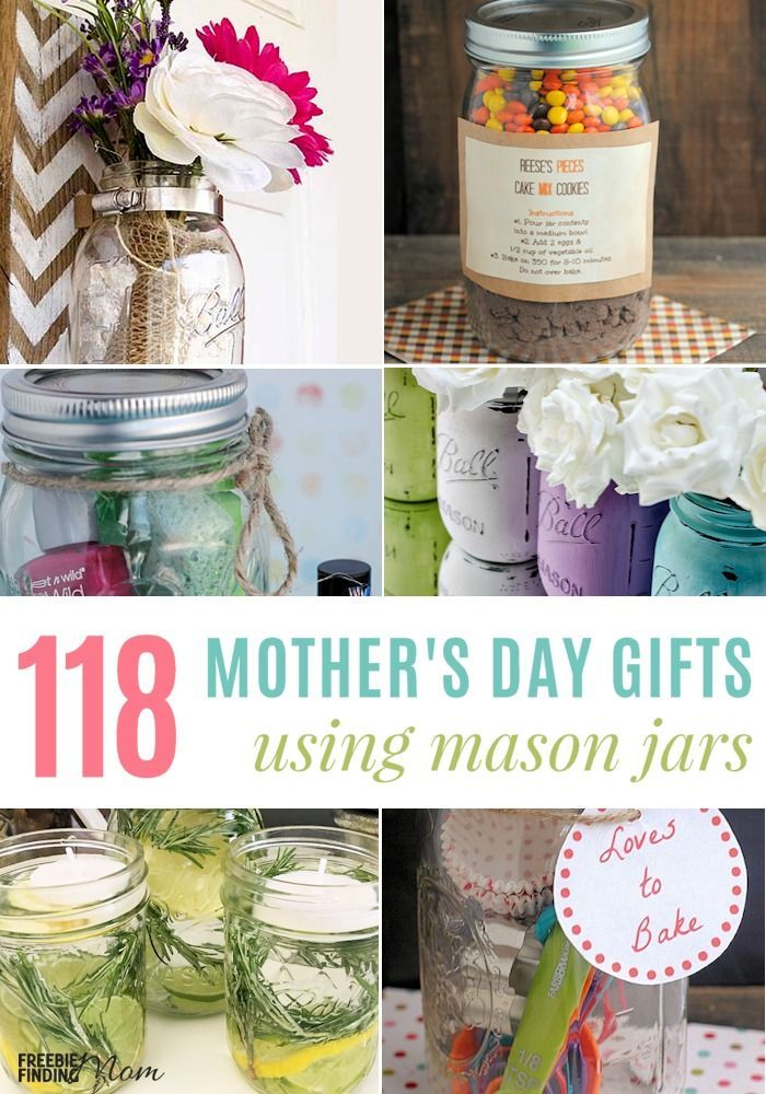 Mother S Day Jar Ideas 118 Frugal Mother S Day Gifts Using Mason