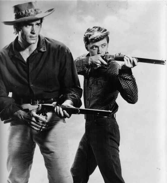 Clint Walker | ... by Clint Walker. (Note how he makes that Winchester look like a toy