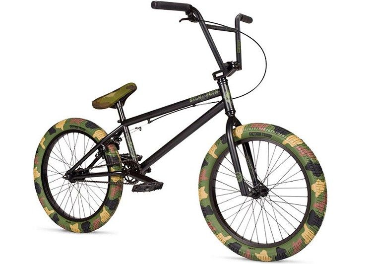 Stolen X Fiction Bmx Camo Complete Bike Bmx Bicycle Bmx Gear Bmx Freestyle