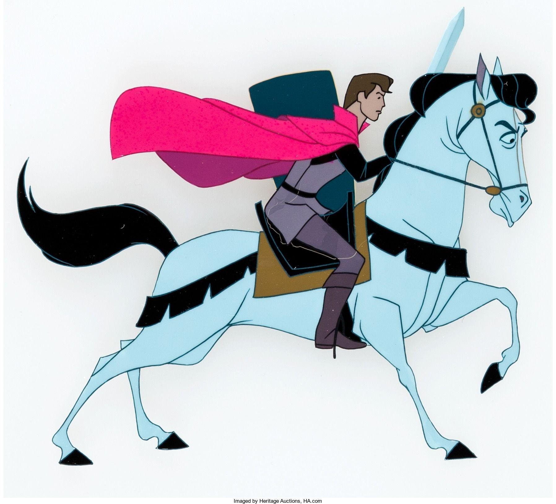 Sleeping Beauty Prince Phillip Pan Production Cel (Walt Disney, 28)