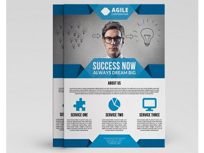 Corporate Flyer Template Vol 34 Flyer template, Business flyers - corporate flyer template