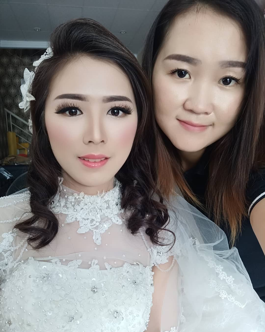 Korean Make Up Wedding Style Kesampean Juga Akhir Nyaahh Dah Lama Mau Make Up Ala Korea Ayoo Siapa Lagi Yg Mau D Mke Up Ala Ala Korea Di Hri Wedding N