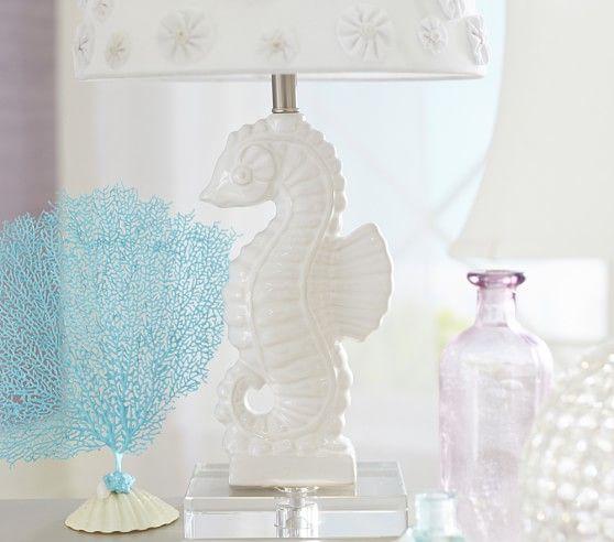 Seahorse Ceramic Base   Pottery Barn Kids   Next House Ideas ...