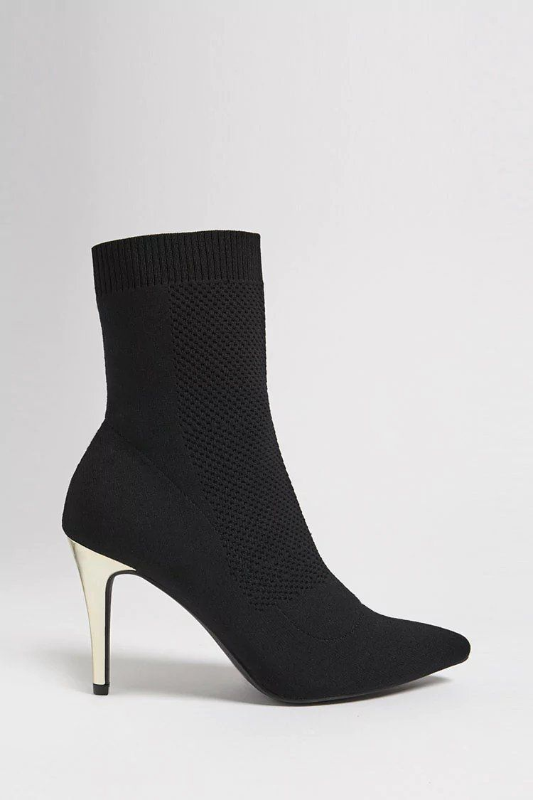 0242ea255c8c Product Name Pointed Toe Sock Boots