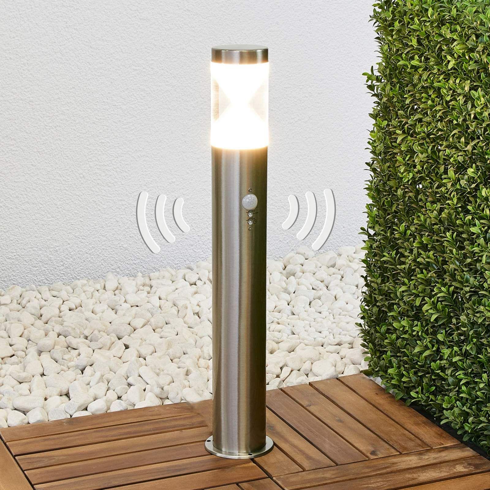 LED Wegeleuchte Jupp 90 cm Lampenwelt Pollerlampe Eckig Modern Außenlampe LEDs