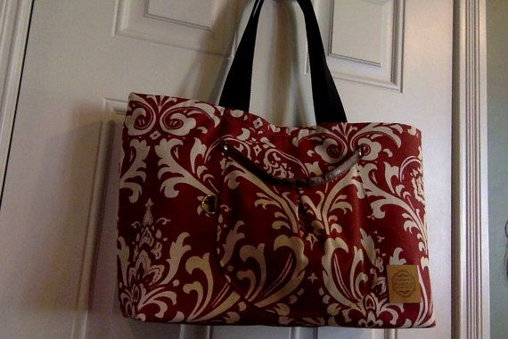 Reserved Item...Linen Knitting Bag by RPLdesigns on Etsy, $85.00