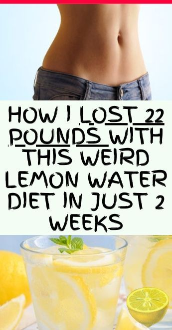 Here's A 14-Day Lemon Water Challenge That Will Help You Lose Weight – Healthy Life