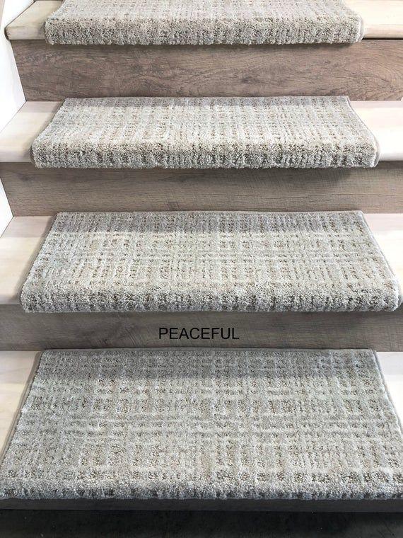 Best Padded Carpet Stair Treads Crossroads Peaceful 400 x 300