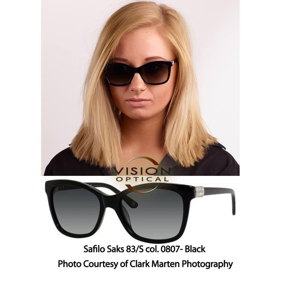 c931f22d6a0 Safilo Saks 83 col. 0807 BIK-Black- Photo Courtesy of Clark Marten  Photography safilosakessunglassesbillingsmt