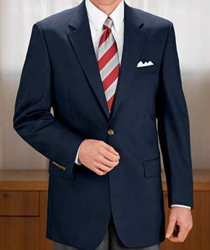 Classic Collection Regal Fit Solid Sportcoat CLEARANCE