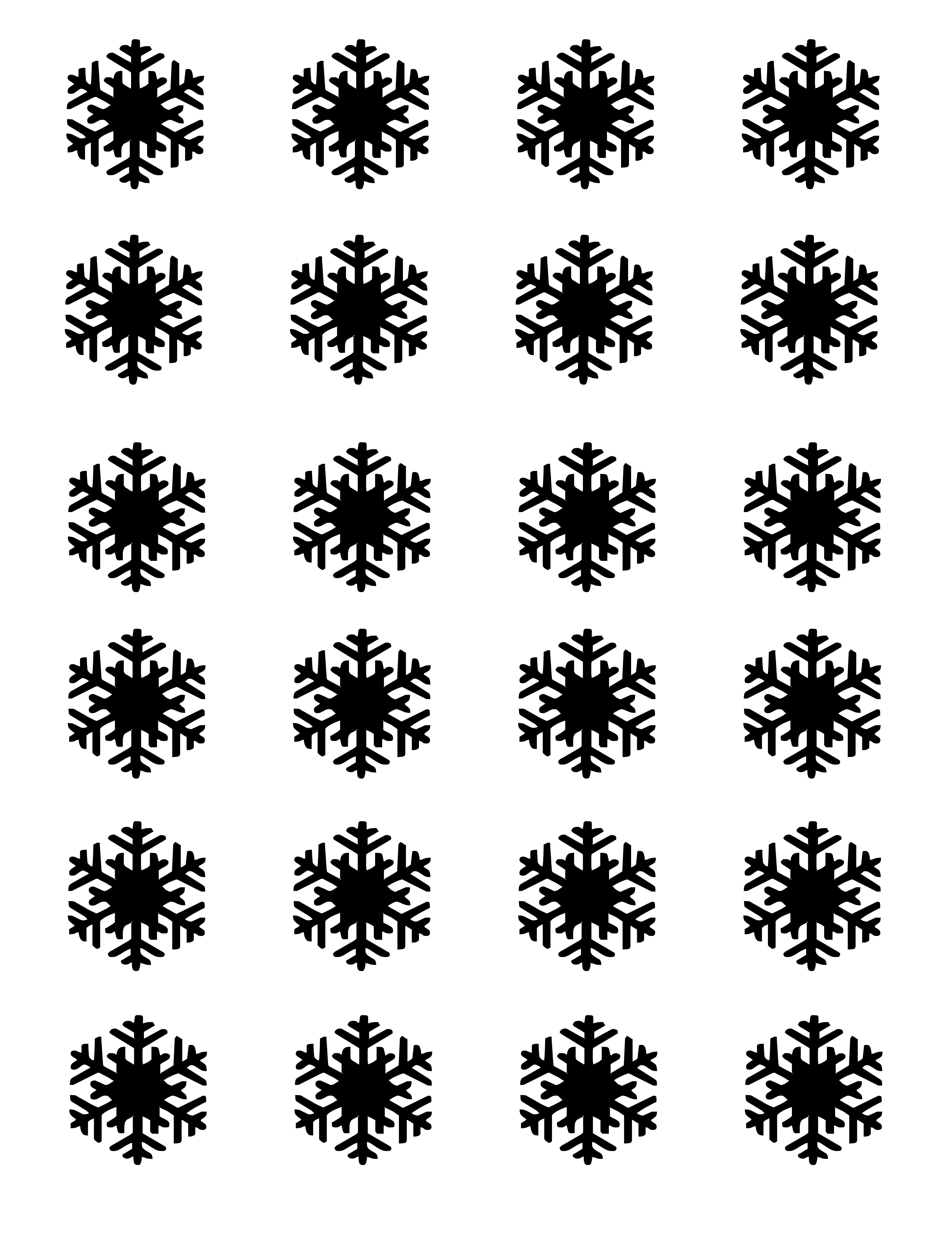 free for you   snowflake templates for royal icing