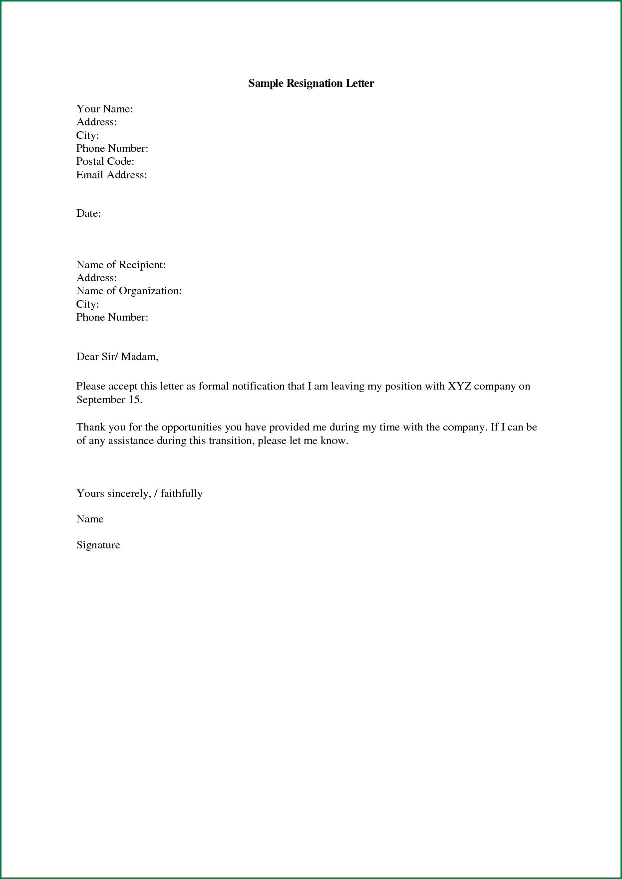 Letter Chef Neighbor Thank Appreciation Resignation Sample