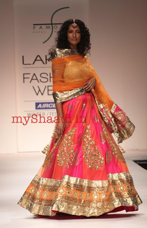 Myshaadi indian bridal wear by payal kapoor bombay beauty