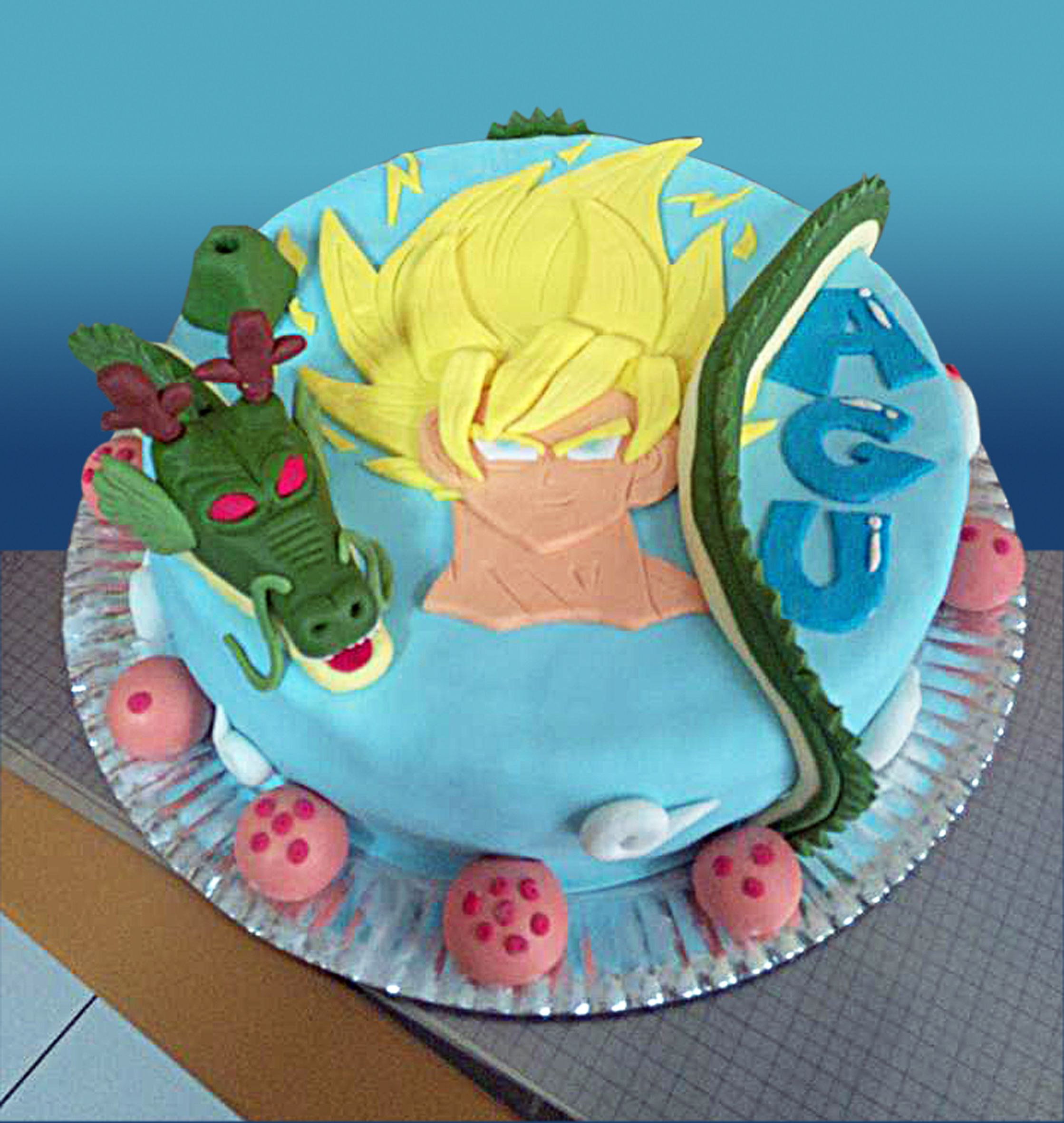 Para el cumple de Agu - Dragon Ball