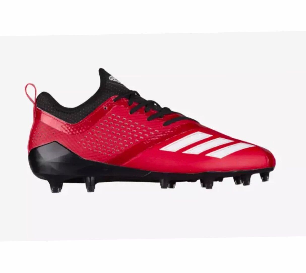 Adidas Adizero 5 Star 7 0 Low Football Cleats Red Black Cq0322 Men Sz 15 New Without Box Cleats Adidas Cleats Football Cleats