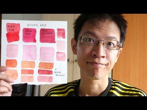 How To Mix Bright Pink With Acrylic Paint Colour Mixing Basics