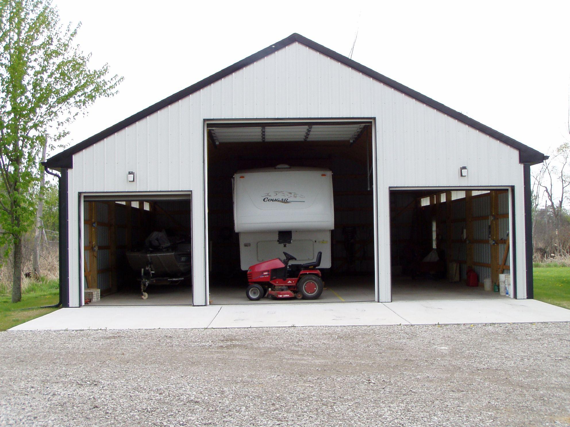 camper storage building