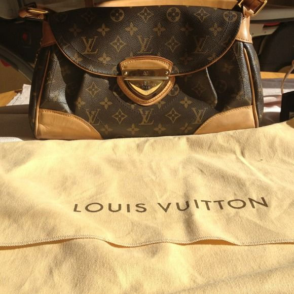 Authentic Louis Vuitton Beverly MM This bag was my first piece of my collection. Purchased at the 5th ave store in NYC by my husband. Loved this bag very much but it is too small for and no longer fits my lifestyle. Great bag for evening, lounges and clubs. Louis Vuitton Bags