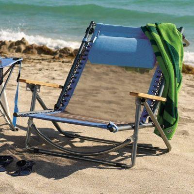 Frontgate Breezy Beach Recliner Beach Gear Tents