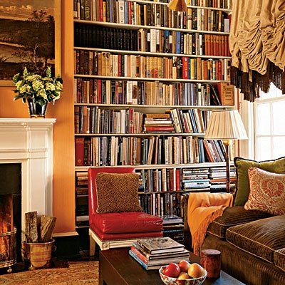 Inviting spot for a good read