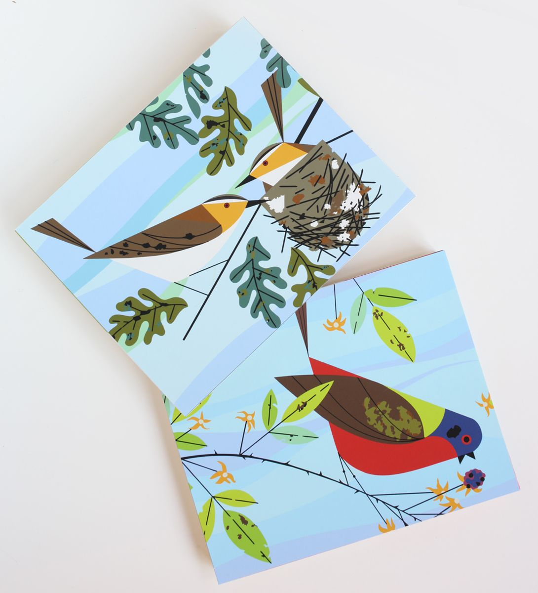Charley Harper Paint by Number | Made Modern | Pinterest