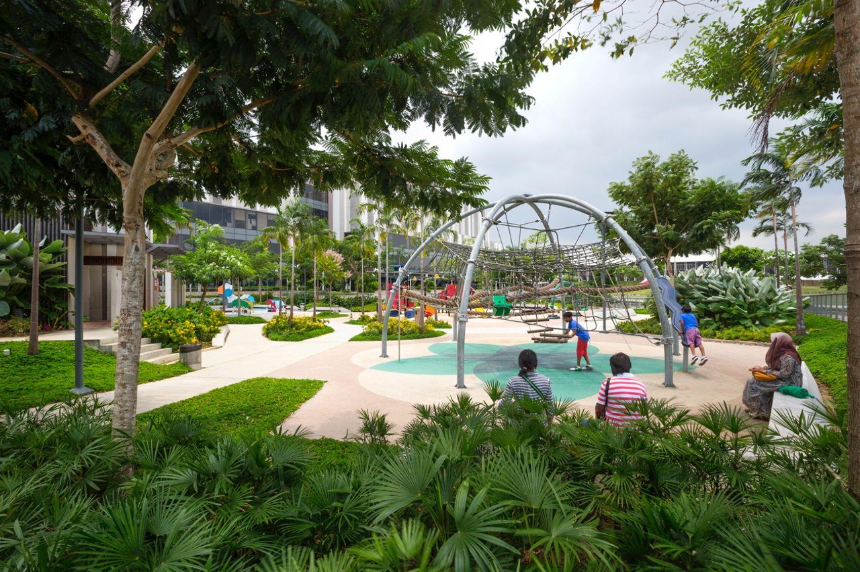 Setia City Park Stx Landscape Alam