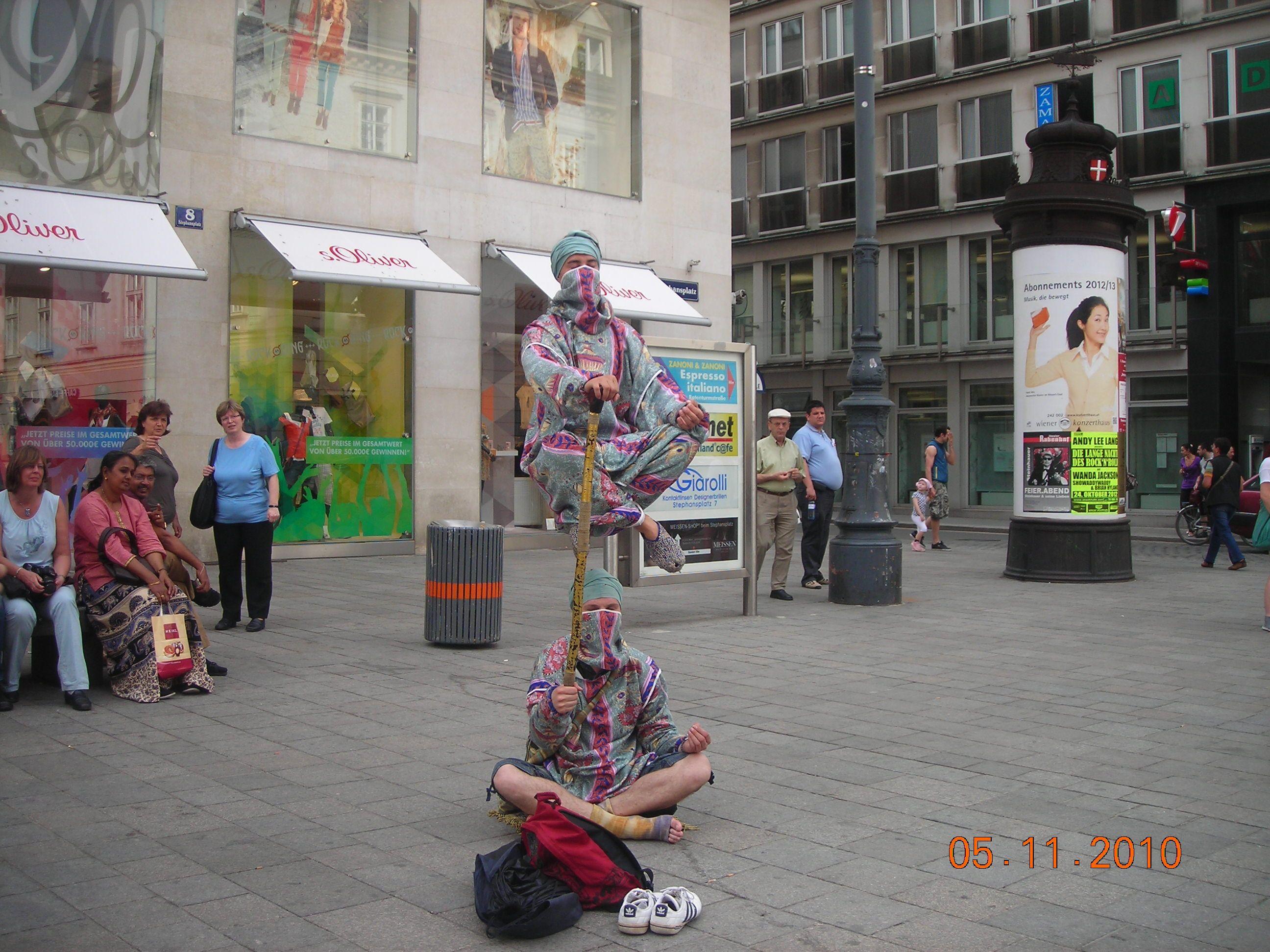 Arte popular por las calles de Viena- Austria
