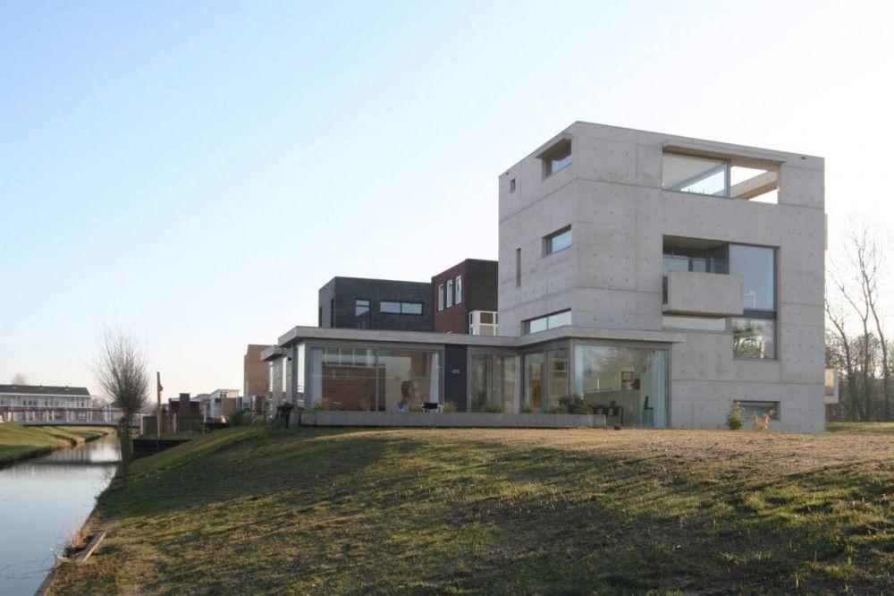 House Meijer Van Der Jeugd Architecten Concrete House Architecture Architecture House