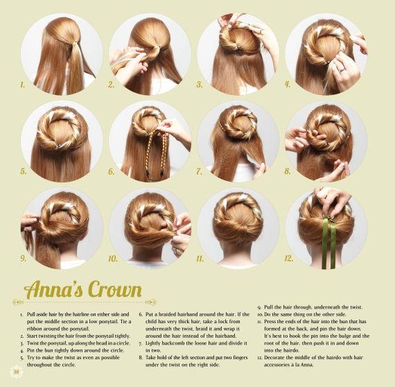 Frozen  Elsa /& Anna Hair Band Wig Custumes