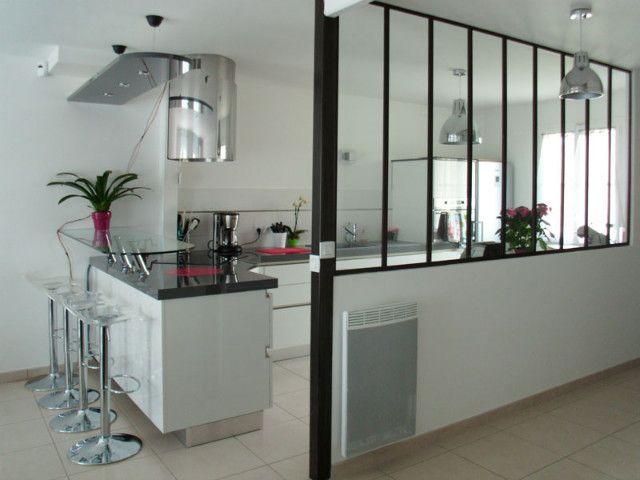 Verrière d\'appartement : cuisine / couloir - Verrières d\'intérieur ...
