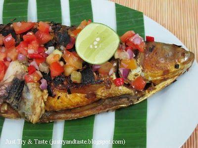 Resep Bandeng Bakar Sambal Dabu Dabu Resep Masakan Indonesia Resep Ikan Makanan Dan Minuman