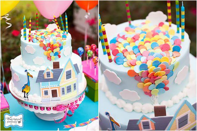 Enjoyable Up Birthday Party With Images Disney Up Cake Cake Personalised Birthday Cards Paralily Jamesorg