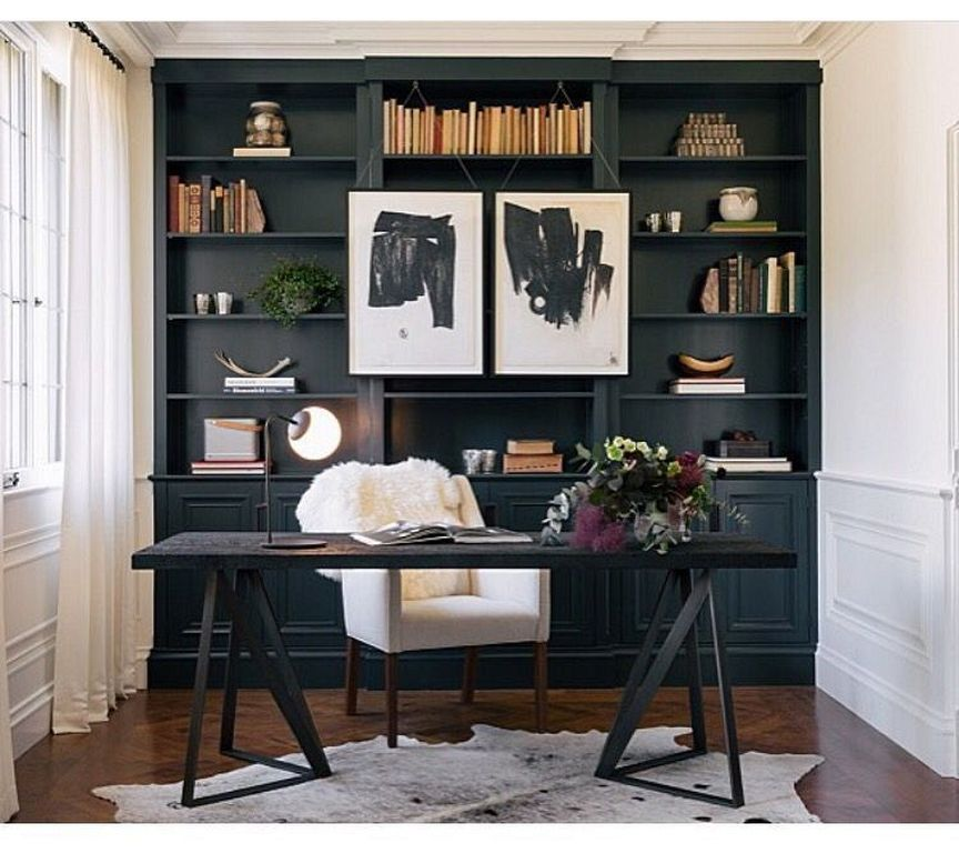 30 Masculine Home Office Ideas For Men Primitive Home Decor In