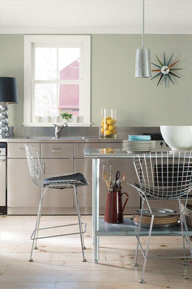 Kitchen 3 Benjamin Moore Benjamin Moore Kitchen Painting Oak Cabinets Kitchen Paint Colors