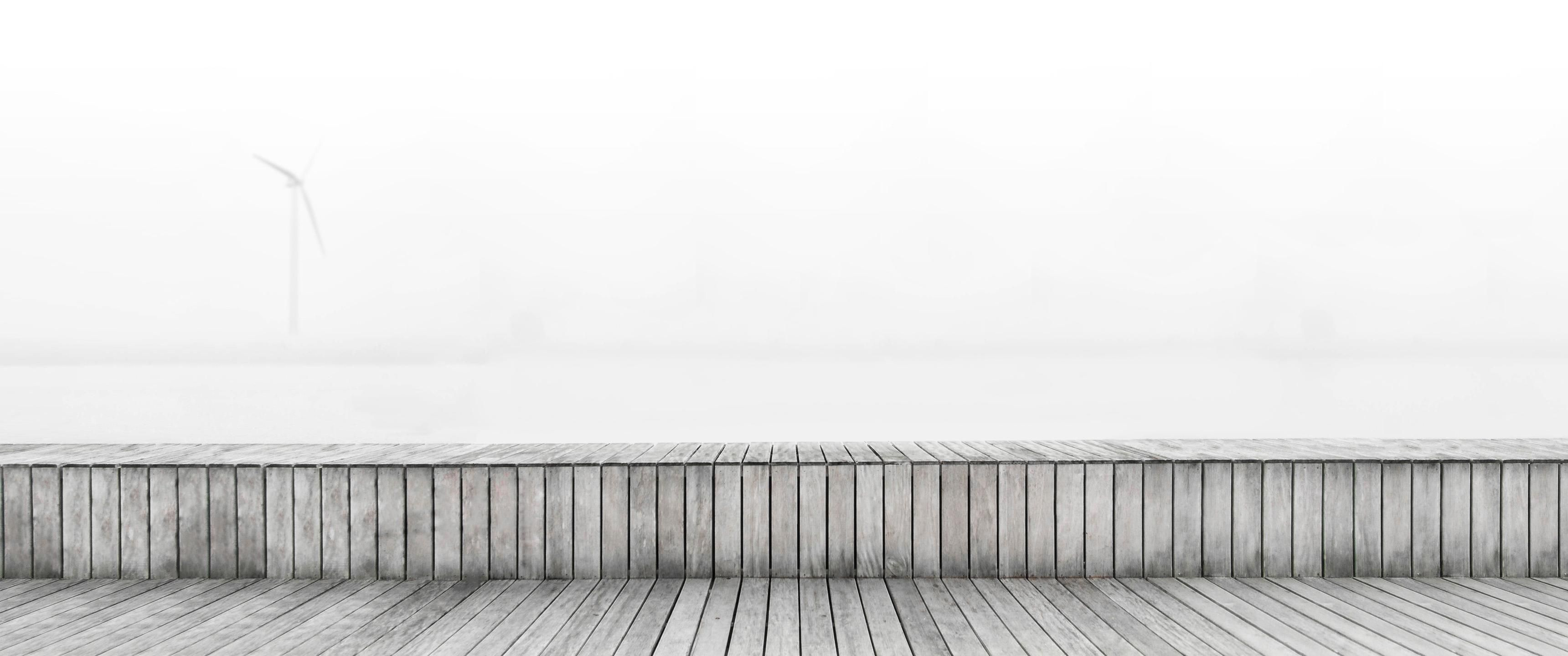 [3440x1440 Ultrawide] Minimalism Morning Mist.